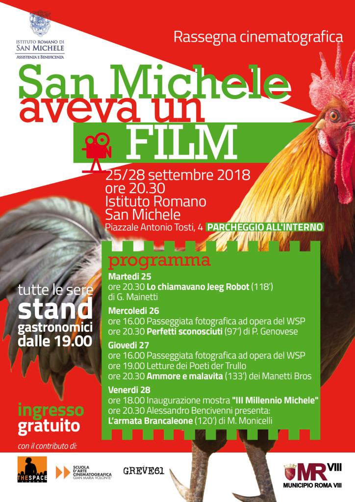 San Michele aveva un Film - 2018